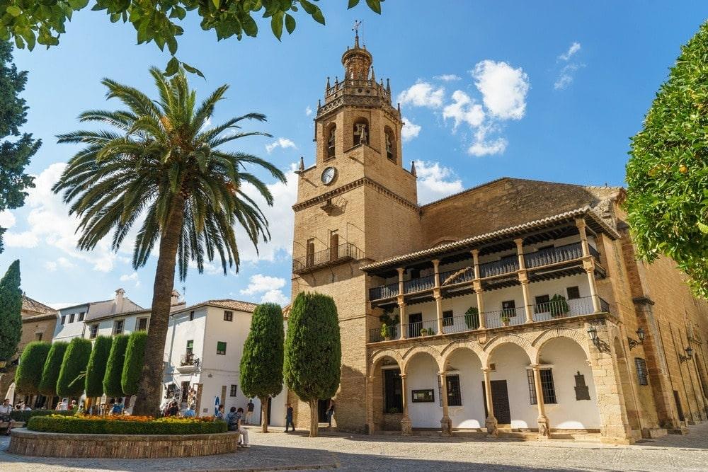 Église de Santa María la Mayor à Ronda