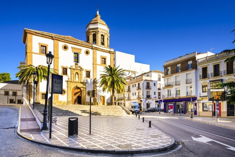 Église de la Merced à Ronda