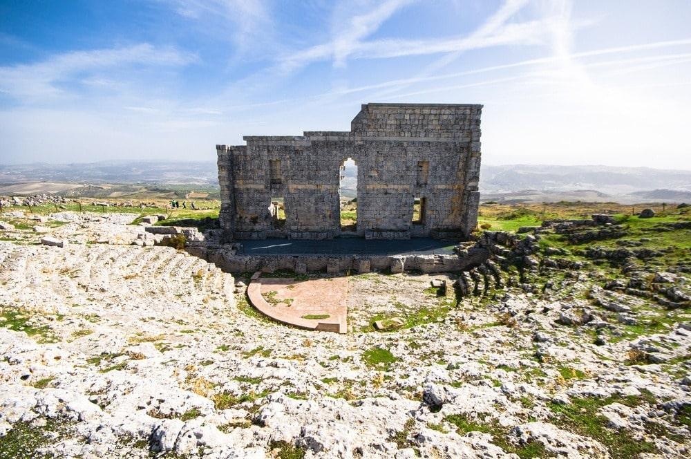 Acinipo ruins in Ronda
