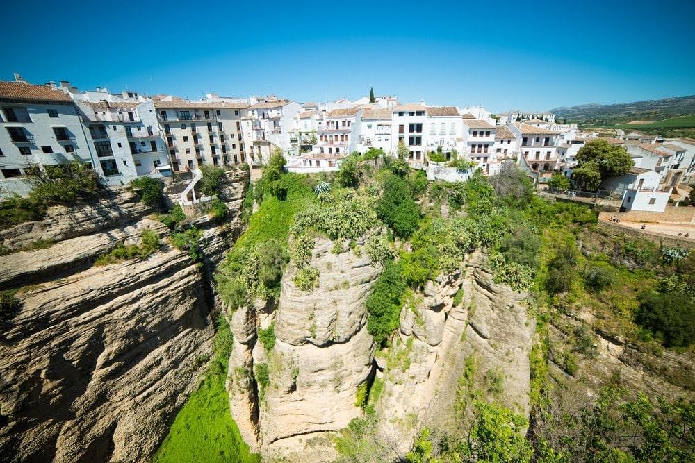 Aussichtspunkt Mirador de la Aldehuela in Ronda