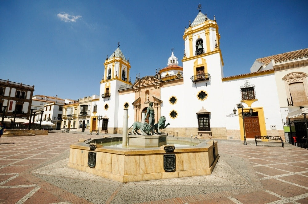 Church of El Socorro in Ronda