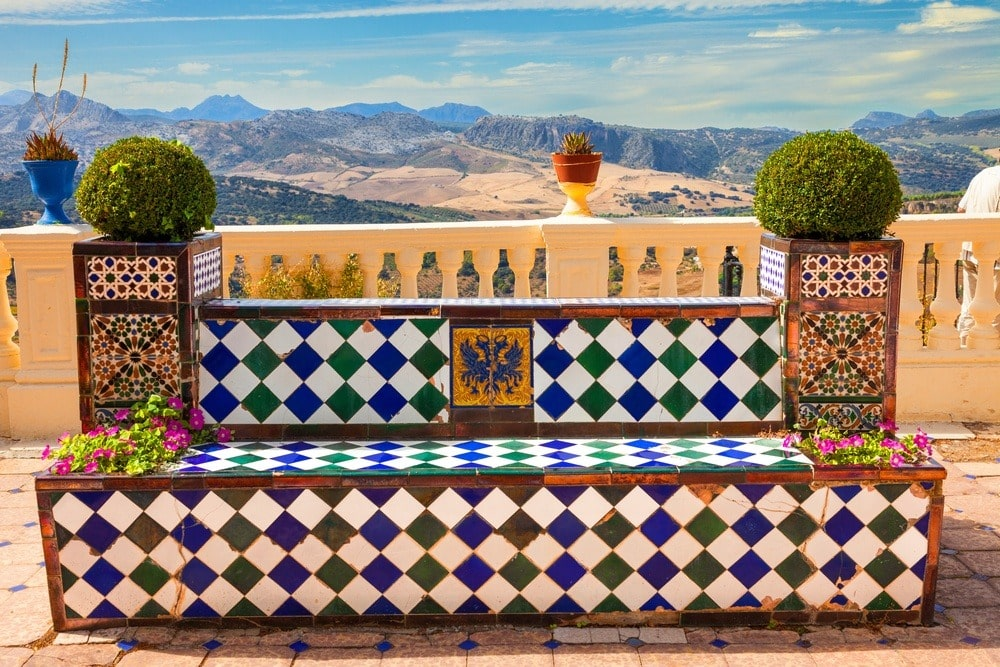 Point de vue panoramique à Ronda
