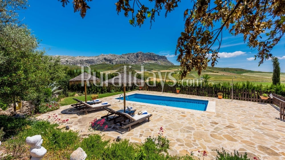 Villa with breathtaking views over the Torcal in Antequera - MAL0492