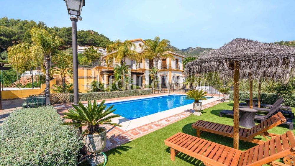Family-friendly villa in Sierra de las Nieves (Alozaina)