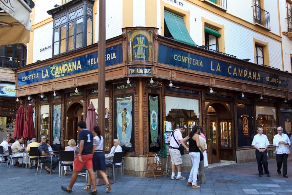 Pastry shop La Campana, Seville