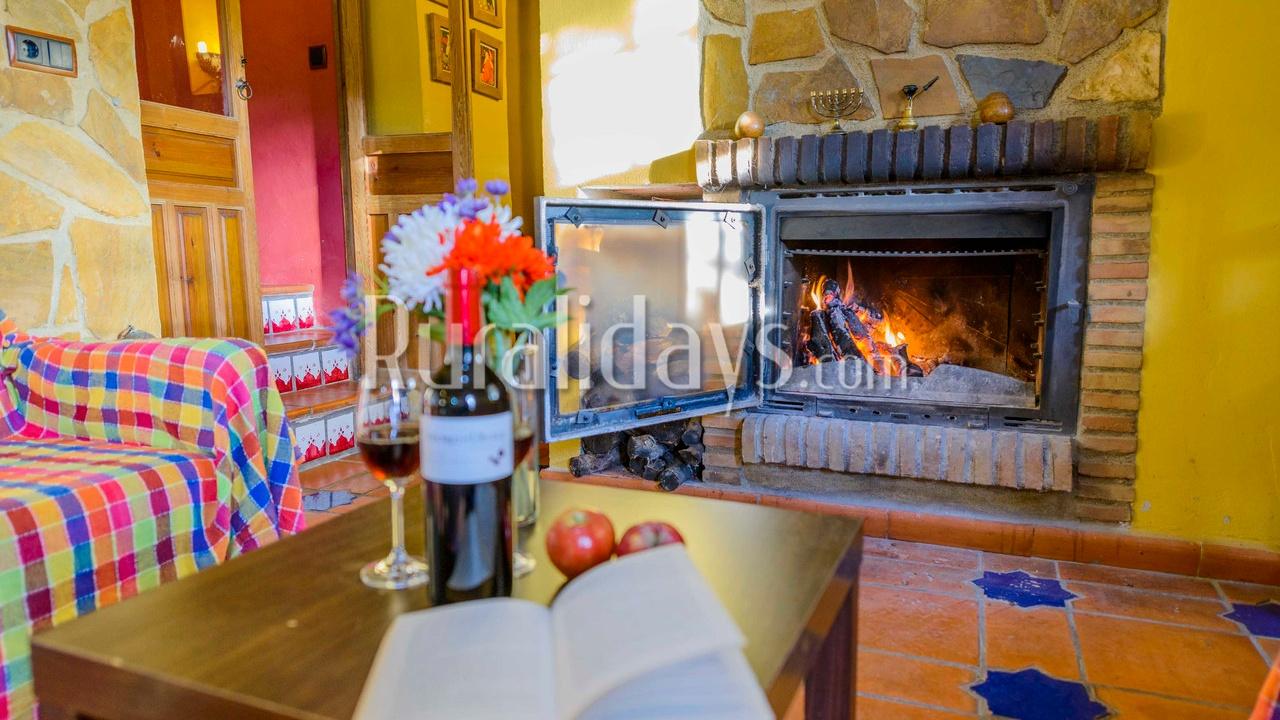 Las mejores casas rurales con chimenea de andaluc a - Casa rural en rupit i pruit ...