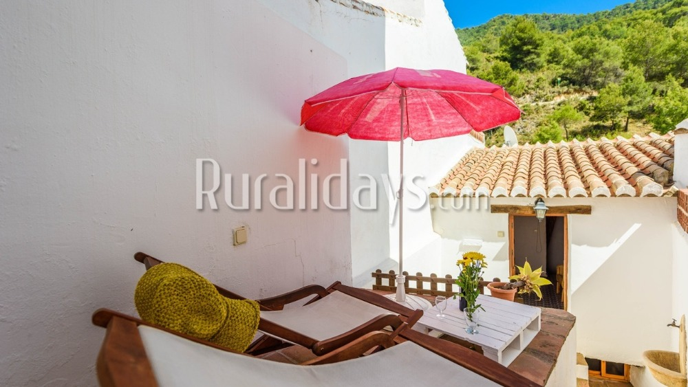 Splendid holiday retreat for a couple in Frigiliana (Malaga)