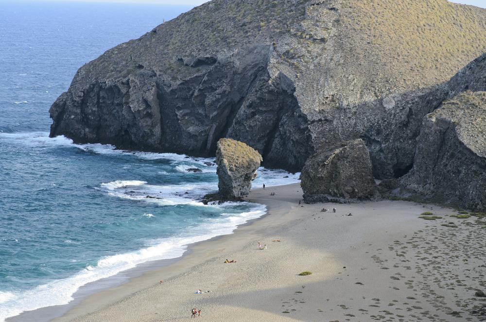 Strand von Los Muertos (Cabreras, Almeria)