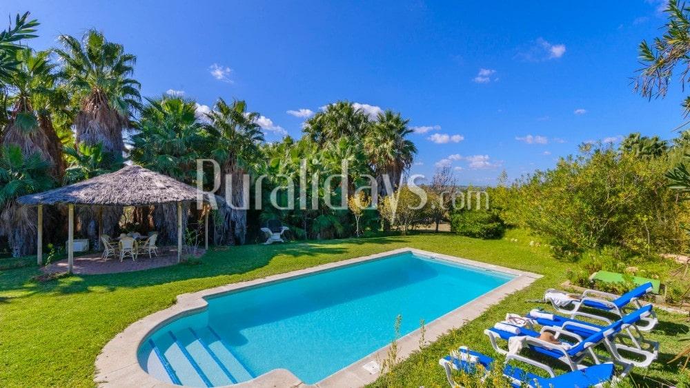 Espaciosa villa con jardín que admite mascotas en Arcos de la Frontera - CAD2525