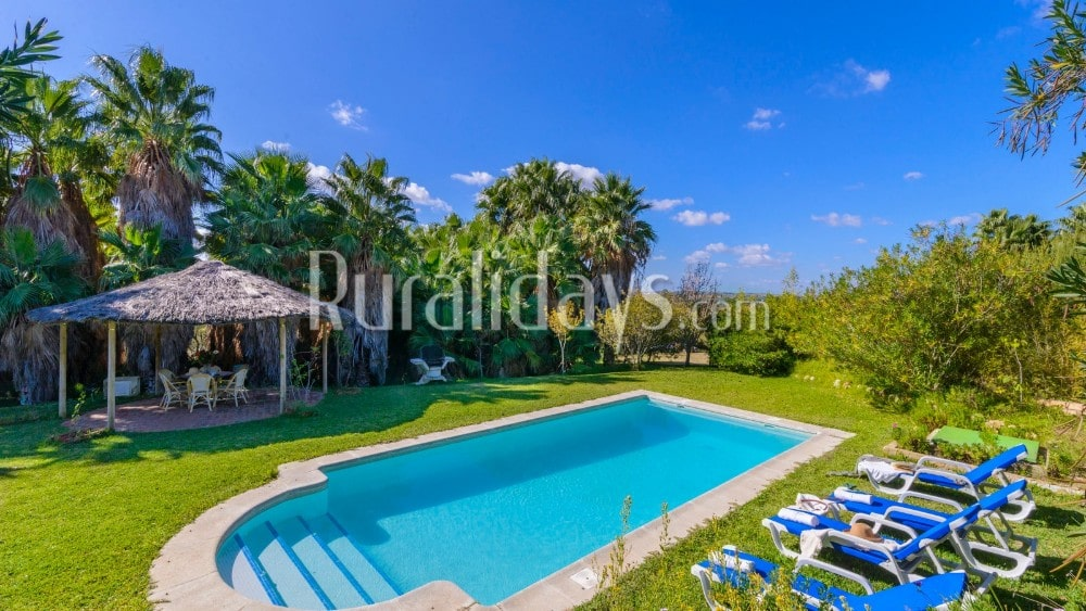 Spacious pet-friendly villa with garden in Arcos de la Frontera - CAD2525