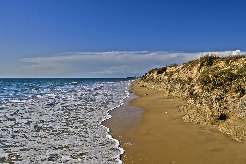 Costa Ballena beach in Rota, Almeria