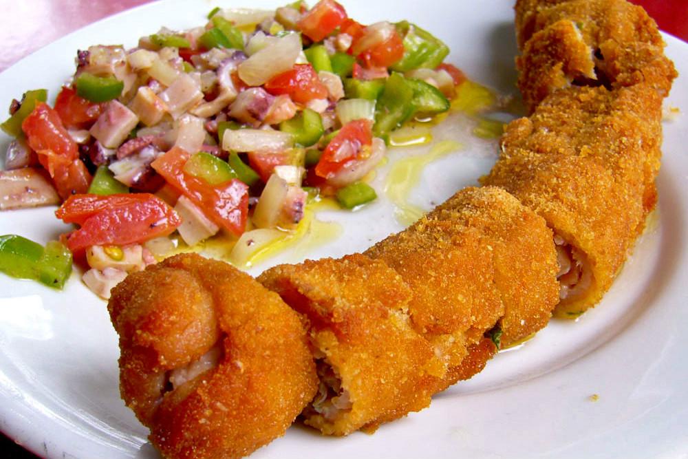 Qué comer en Córdoba, Flamenquín