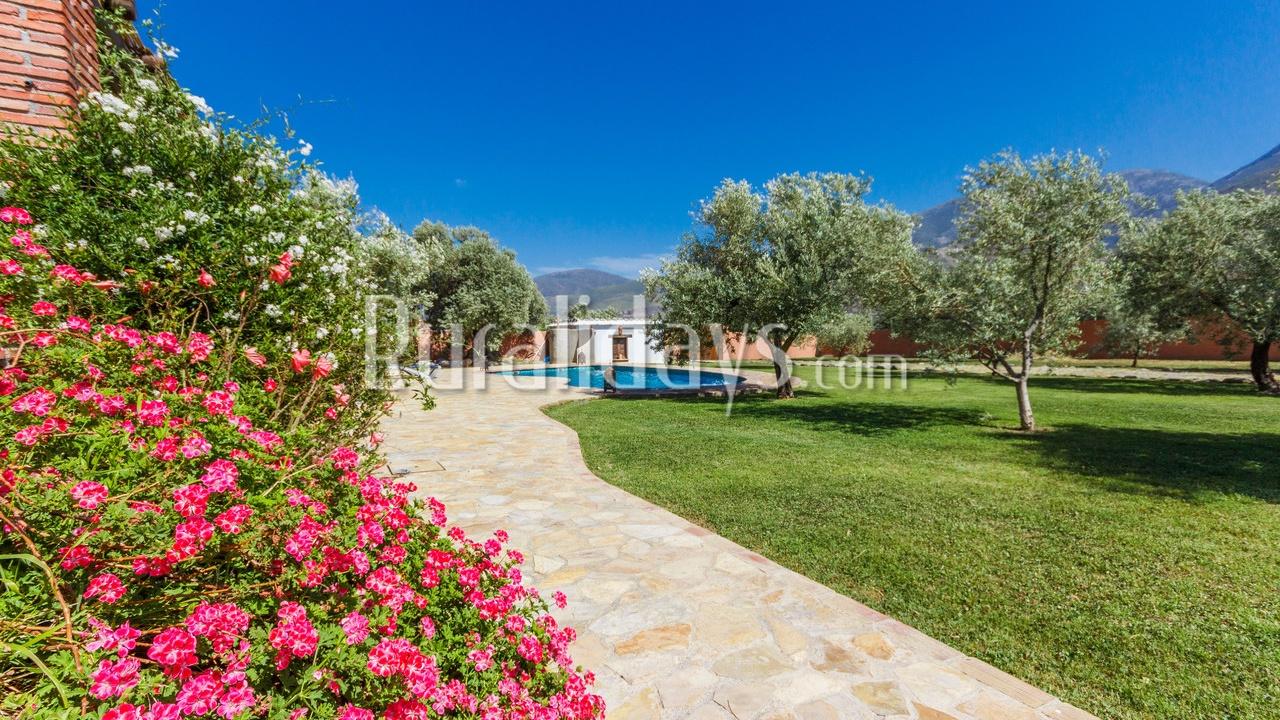 Diervriendelijke vakantiehuis in Orgiva (Granada)