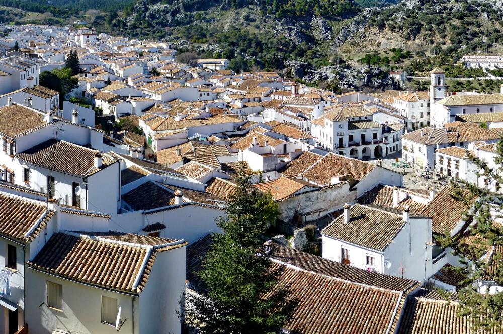 Pueblo blanco de Grazalema, Cádiz