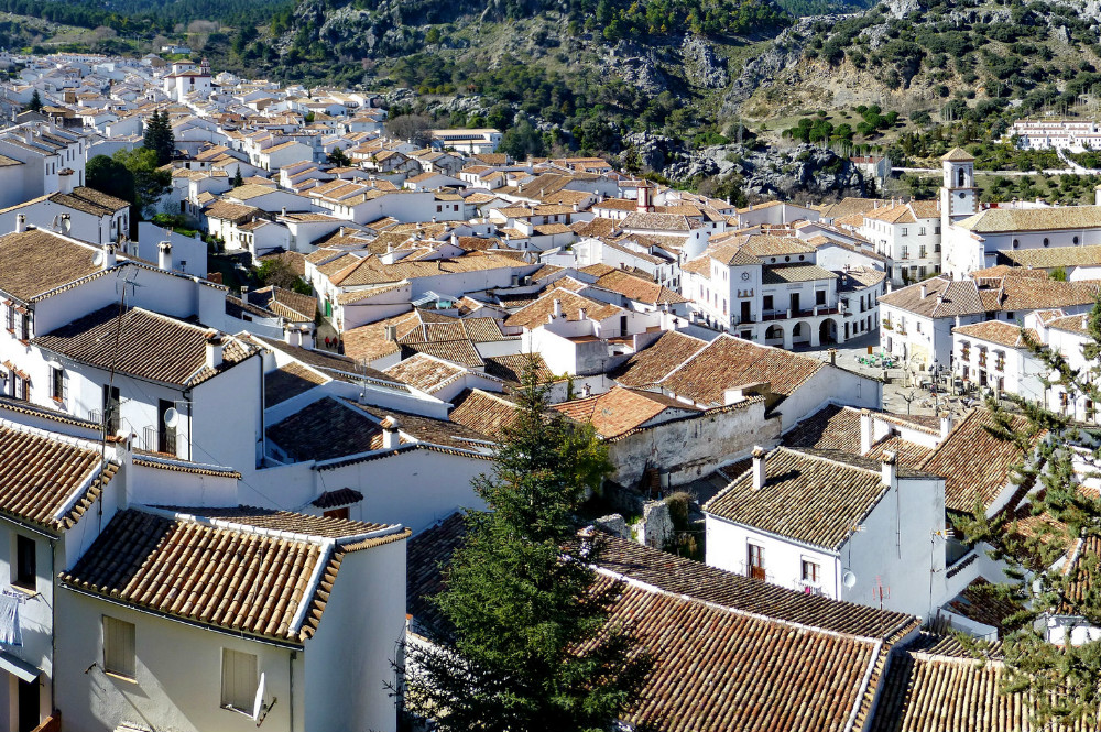 White Village of Grazalema, Cadiz