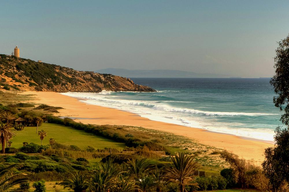 Los Alemanes beach in Zahara de los Atunes, Cadiz