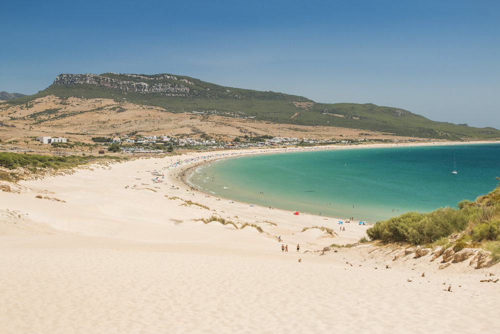 Bolonia beach in Tarifa