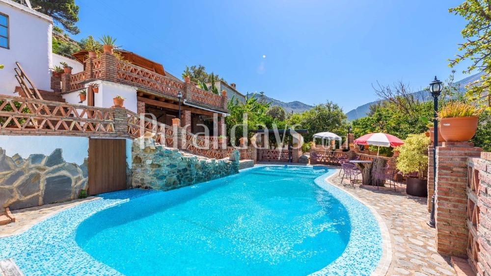 Spectaculair vakantiehuis met uitzicht (Órgiva, Granada)