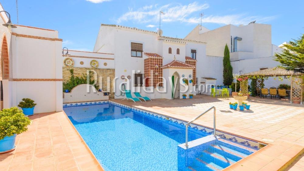 Charmante villa voor families en vrienden (Antequera, Malaga)