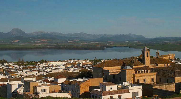 Pueblo blanco de Bornos, en provincia de Cádiz