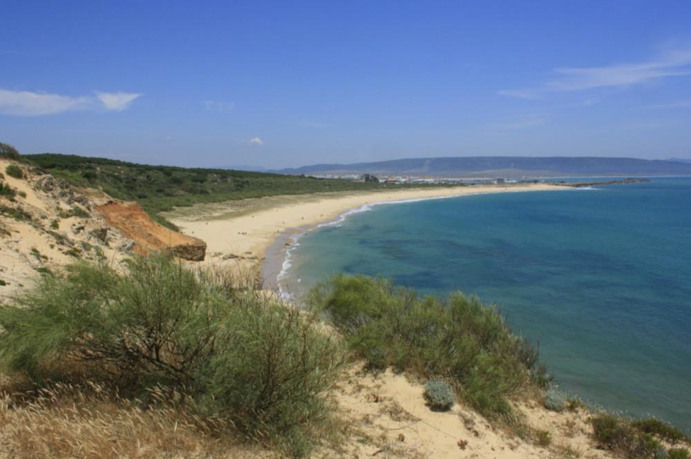 Zahara de los Atunes beach in Barbate, Cadiz