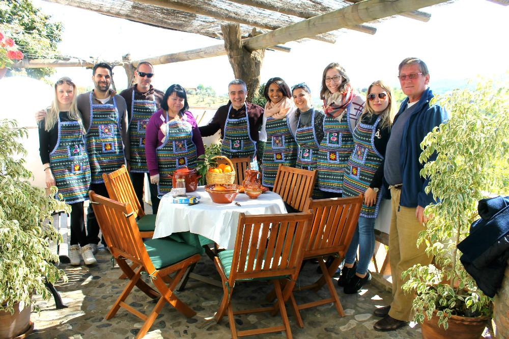 Escapada a casa rural en Monda, equipo de Ruralidays