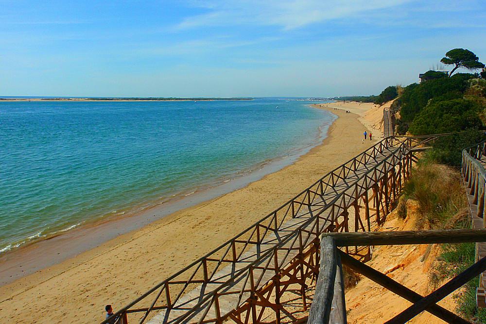 El Portil beach in Huelva