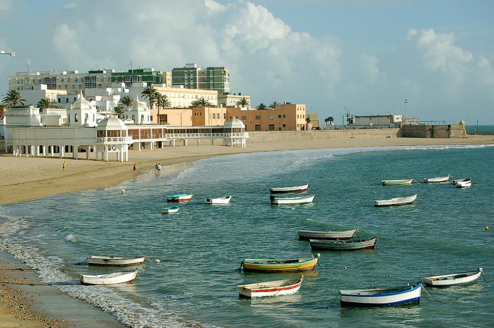 Strand von La Caleta, Cadiz