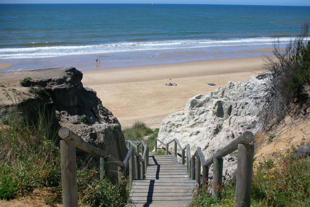 Playa de Cuesta Maneli, en Huelva