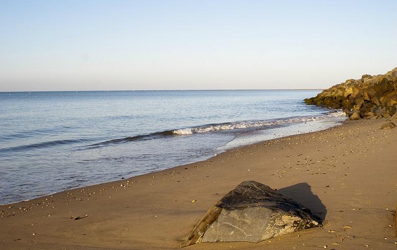 Playa de Isla Canela, en Huelva