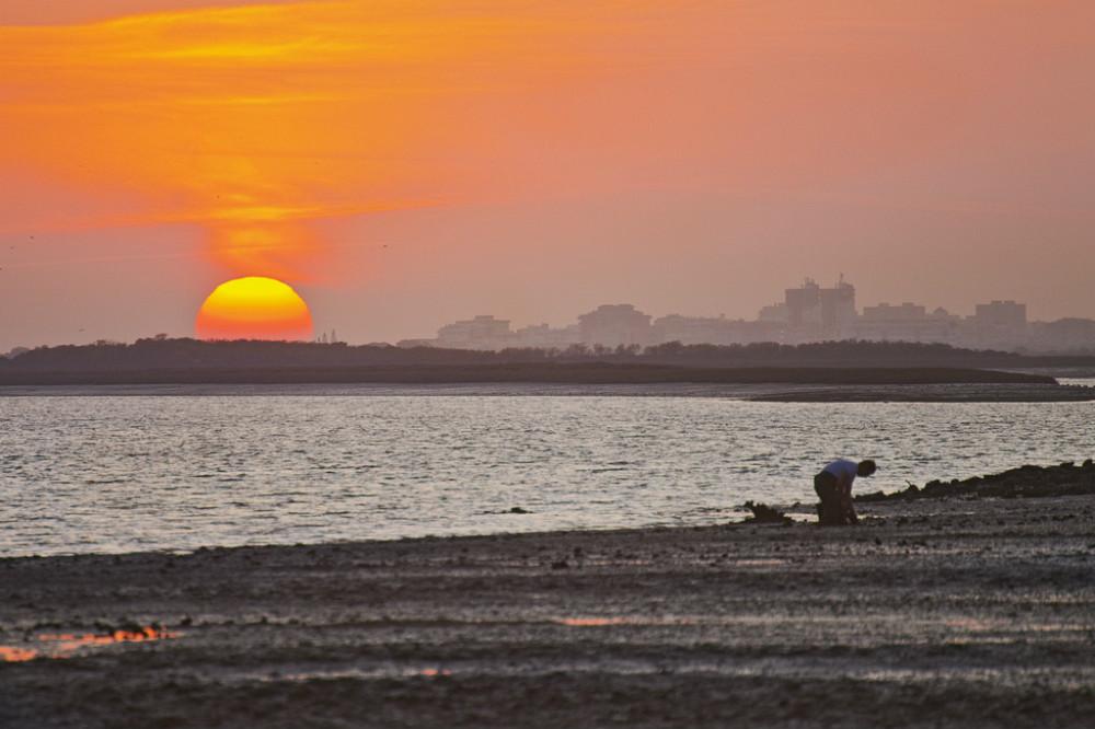 Playa del Rompido, en Huelva