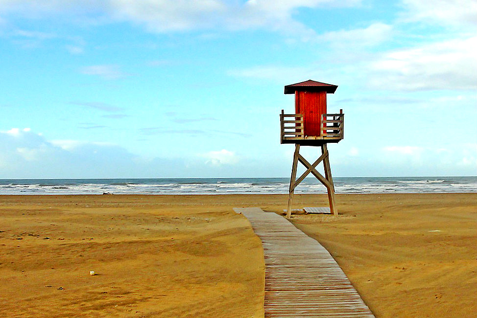 Punta Umbría beach in Huelva