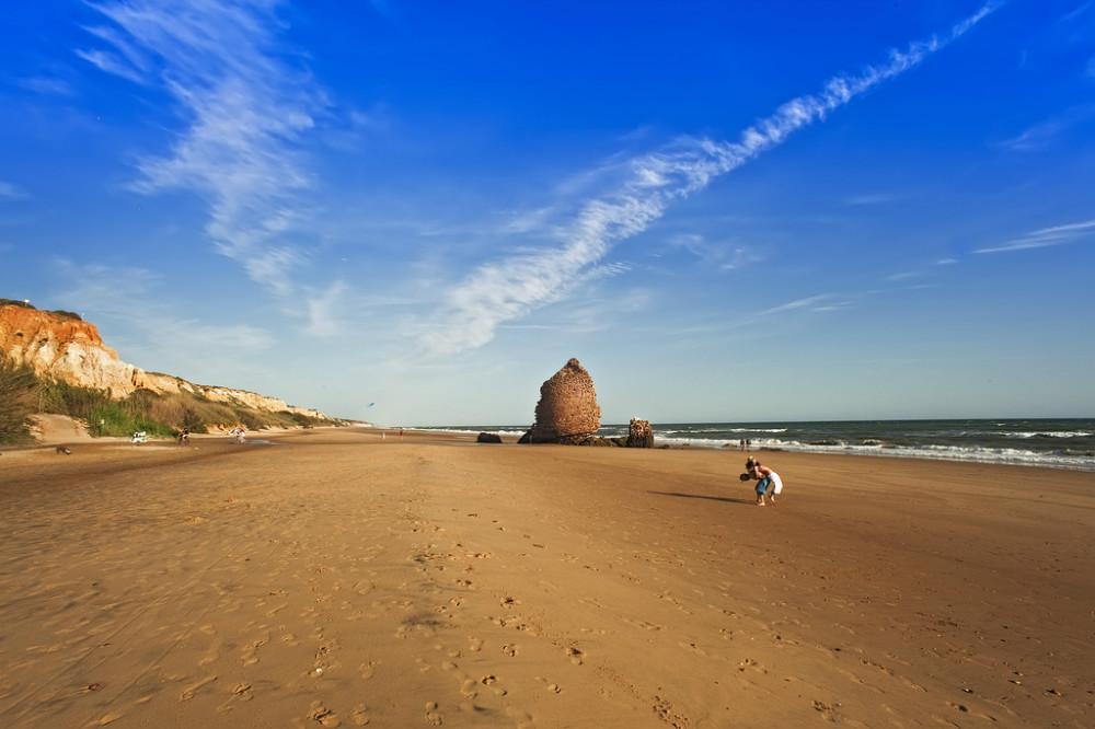 Torre del Loro beach in Huelva
