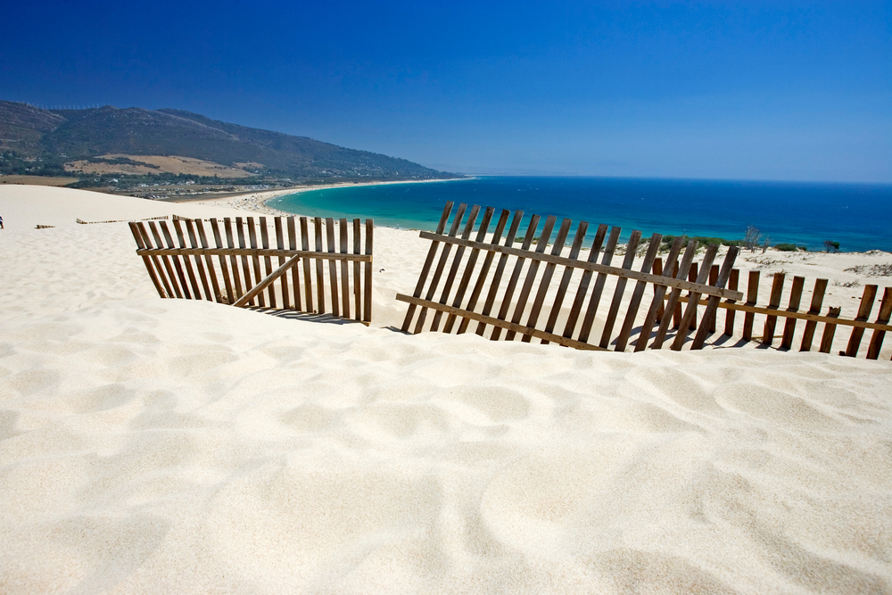 Strand von Valdevaqueros, Tarifa, Cadiz
