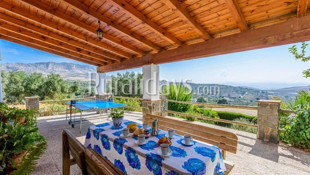 Charmantes Ferienhaus mit Tischtennisplatte in Antequera (Malaga) - MAL0617