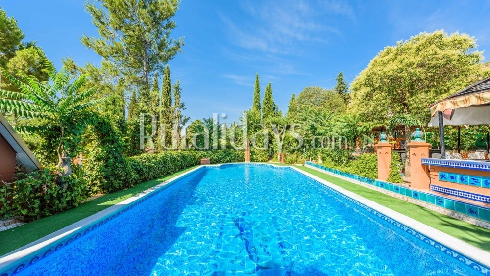 Espaciosa casa rural con pistas de fútbol en Íllora (Granada) - GRA0884