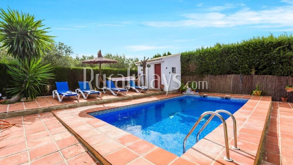 Ferienhaus mit Raum für Unterhaltung in Ronda (Malaga) - MAL0183