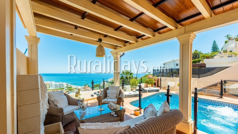 Holiday home with magnificent outside in Nerja - MAL2575