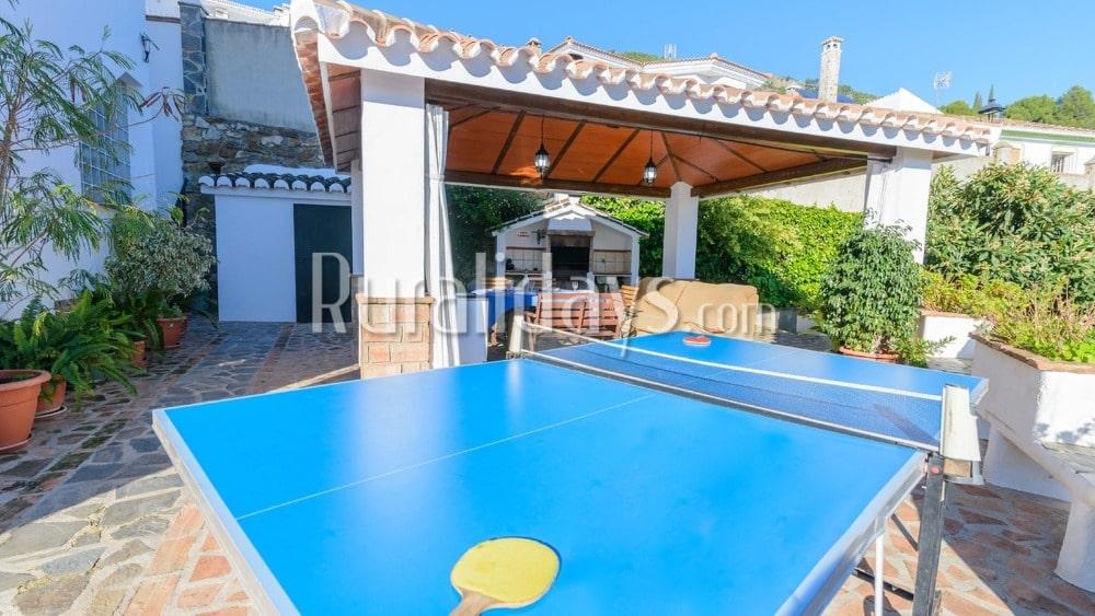 Vakantiehuis in Andalusische stijl met recreatievoorzieningen in Casarabonela (Malaga) - MAL0157