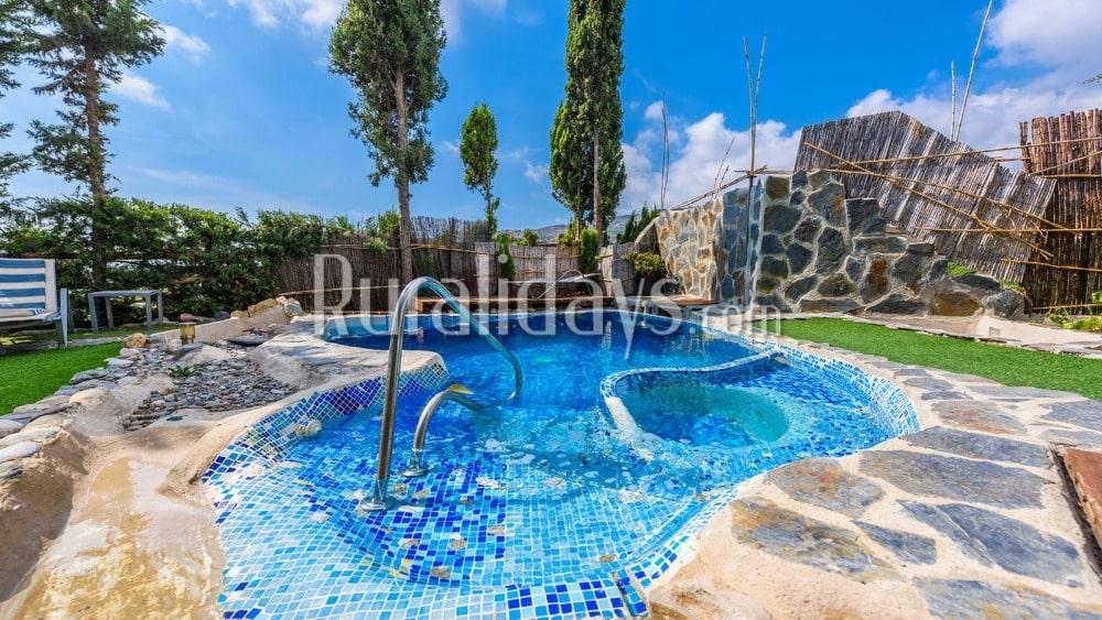 Vakantiehuis met recreatievoorzieningen en hemels uitzicht in Salobreña (Granada) - GRA0871