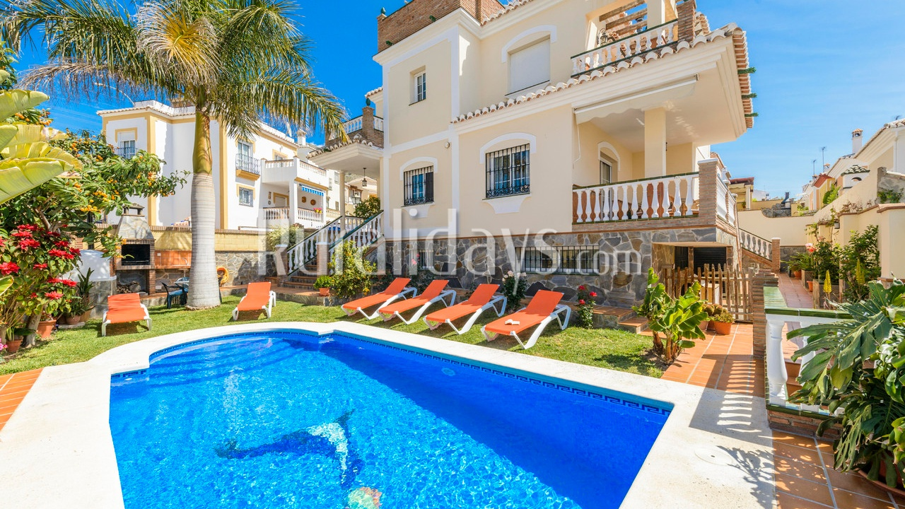 Villa near the beach in Nerja (Malaga)