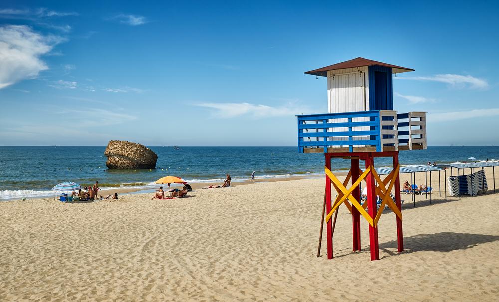 Matalascañas beach, in Huelva