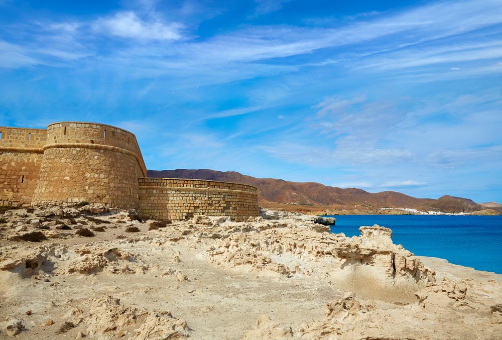 Playa de Los Escullos. Almería