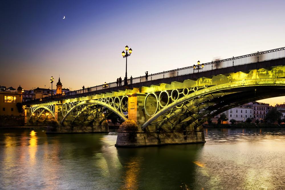 Puente de Isabel II en Sevilla
