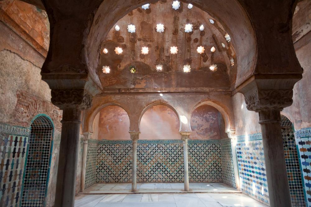 Arabish badhuis in Granada
