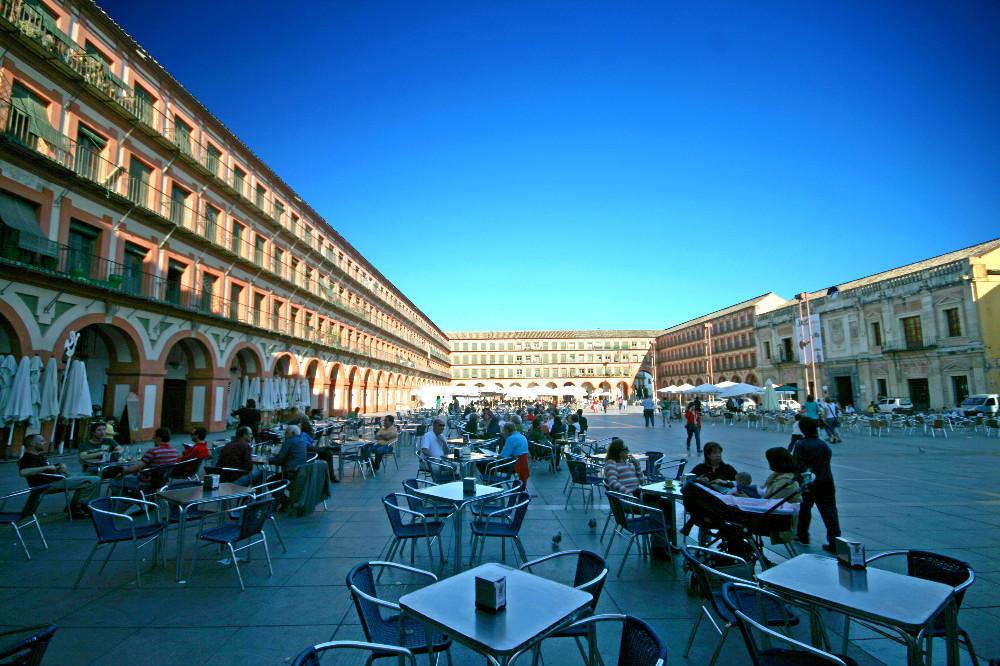 Plaza de la Corredera van Cordoba