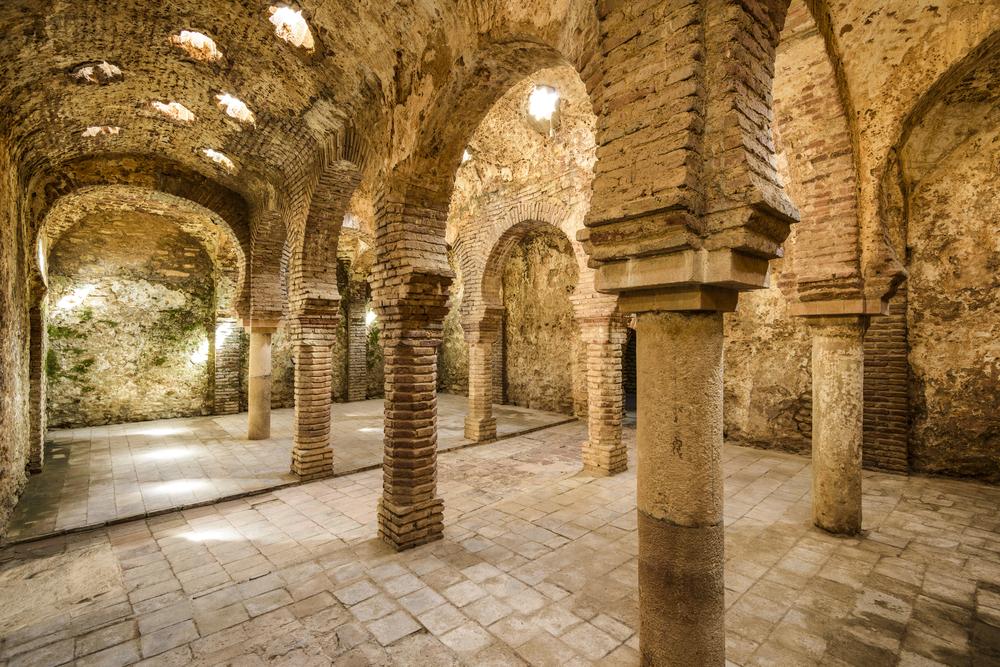 Arabisch badhuis in Ronda