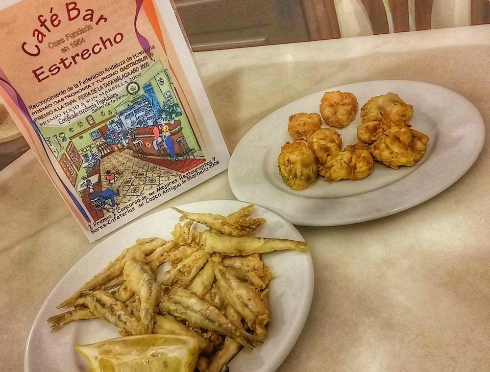 Donde comer en Marbella: Bar El Estrecho