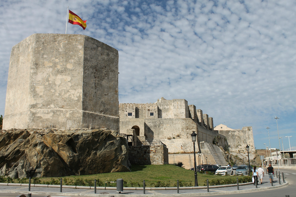 Things to do in Tarifa: visit the Castle of Guzmán el Bueno