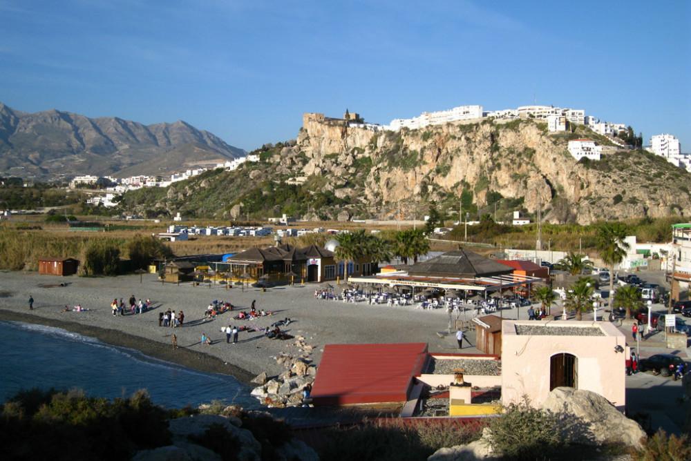 La Guardia beach in Granada